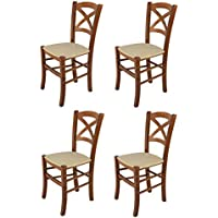 Amazon.es: sillas de madera para cocina - Sillas / Cocina: Hogar y ...