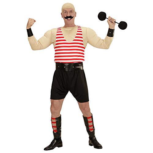 Widmann - Erwachsenenkostüm Muskelmann (Zirkus Motto Kostüm Für Erwachsene)