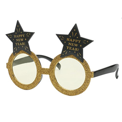 ues Jahr Pentagram Shaped Glasses Cosplay Partei Sonnenbrille Dekoration Requisiten (Lustig, Leicht Zu Machen Halloween-kostüme)