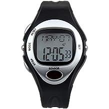Reloj Pulsometro Podometro Cronometro Sin Correa Pectoral con Sensor Huella Ciclismo Running Deporte 4247