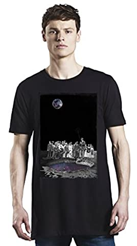Galaxy Golf Club Long T-Shirt For Men| Custom -Printed Tee| 100% Superior Organic Combed Cotton| Premium Quality DTG Printing| Unique Clothing For Men By Bang Bangin X-Large
