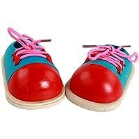 Fenteer Scarpe Alte Pizzo Lacci Sneaker Stringate Casuale Per Bambola Accessori Canvas Regali - Blu XRPDX