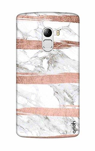 Qrioh Printed Designer Back Case Cover for Lenovo K4 Note - Marble texture