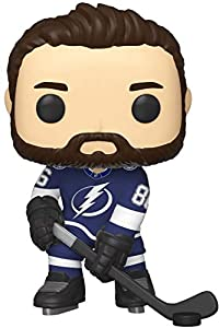 Funko Pop Figura De Vinil NHL: Lightning-Nikita Kucherov (Home Jersey) Coleccionable, Multicolor (44114)