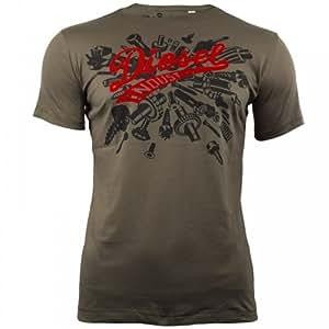 Tee Shirt Diesel Horley Kahki L