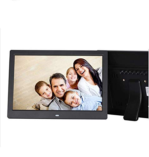 Hahaiyu Big Inch Electric Photo Frames Digital E-Albums (1920 * 1080,12Inch) Android 1080P HDMI Full-View Multimedia Player Wall Decoration,White