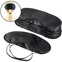 Czemo 10 Stücke Augenmaske Abdeckung Leichte Augenbinde Schlafmaske Chlafabdeckung mit Nasenpolster und Elastische... preisvergleich bei billige-tabletten.eu