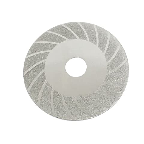 100mm x 20mm x 1mm Double Side lame de scie Disque de coupe diamant grain 150