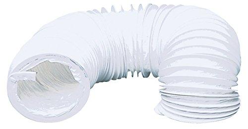 TronicXL Trocknerzubehör PVC Abluftschlauch 127 mm 3 m für Trockner Klimaanlage etc