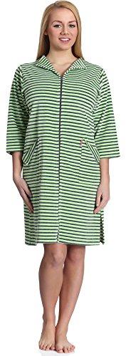 Merry Style Robe de Chambre Femme MS561 (Vert, L)