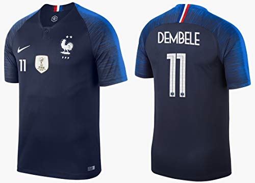 Frankreich Trikot Herren 2018-2019 Home WC - Dembele 11 (XXL)