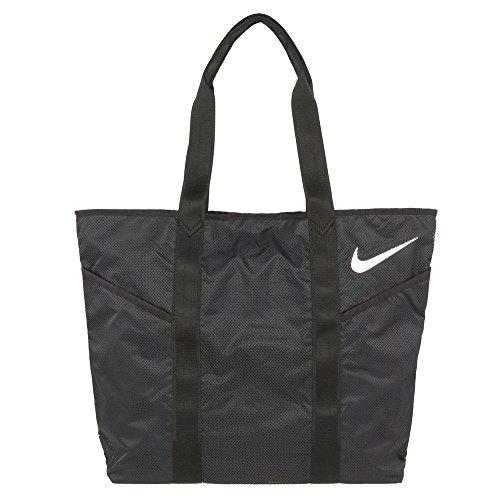 Nike Azeda Tote, Black/White,One Size, BA4929-001 (Nylon Nike Rucksack)