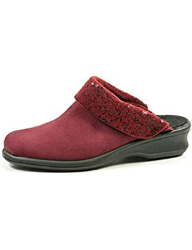 Rohde 4512-48 Farun Damen Hausschuhe Pantoffeln Weite F 1/2