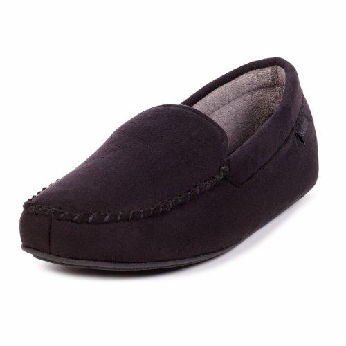 isotoner-chaussons-pour-homme-noir-noir-10-11-uk-large