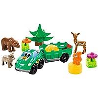 Ecoiffier 3256–abrick Animales del bosque, Juego