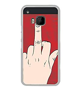 ifasho Designer Back Case Cover for HTC One M9 :: HTC One M9S :: HTC M9 (Cartoon Laptop Skin Cartoon Onesies For Women Cartoon Introduction To Economics)