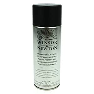 Winsor and Newton Artists Fixative Transparent 400ml Spray (Can) (Note: UK Mainland Delivery Only)