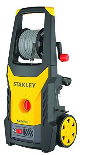 Stanley 14130 Hidrolimpiadora con Motor Universal, 1800 W, Amarillo