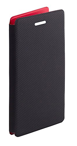 Mucho-Premium Luxury PU Leather Flip Case Cover For Obi Worldphone SF1 - (Brown)