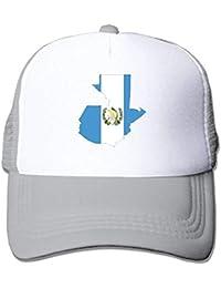 Guatemala Map Flag Youth Mesh Baseball Cap Summer Adjustable Trucker Hat