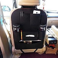 Italish's Hanging Vehicle Car Back Seat Mounted Storage Organizer Bag