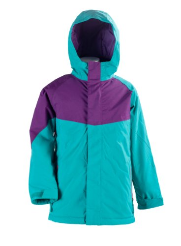 Nitro Kinder Jacke GIRLS LIMELIGHT, TURQ/ PURPLE, M, 1121-872858_1216