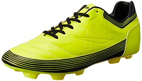 Vector X Chaser ll 001-M Football Shoes, Men's UK 9 (Yellow/Black)