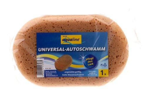 aqualine 1318 Universal Autoschwamm Oval 20x14x7cm (Z29)