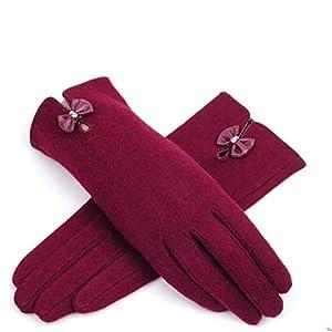 GCC Warme Lady Kaschmir Bogen Touchscreen Handschuhe