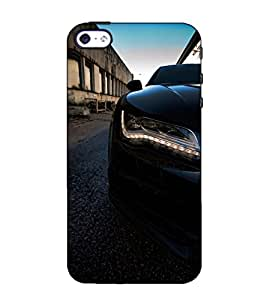 Fuson Designer Back Case Cover for Apple iPhone SE (A Luxury Car Theme)
