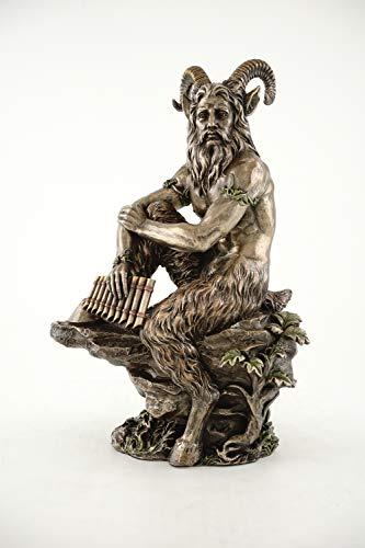 Top Collection Skulptur God of The Wild & Natur, Bronzeguss, 30,5 x 20,3 cm