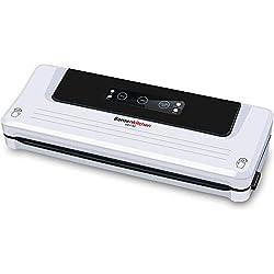 Machine Sous Vide Appareils de Mise Sous Vide Système Bonsenkitchen, garde les aliments secs et humides frais, Sac à vide inclus, blanc VS3750