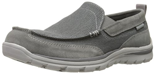 Skechers Superior Milford Herren Sneakers Charcoal