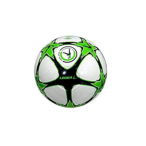 LEGEA Balón de Fútbol Victory Verde/Negro 5