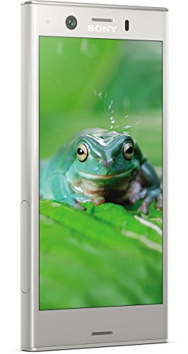 Sony Xperia XZ1 Compact Smartphone (11,65 cm (4,6 Zoll) Triluminos Display 19MP Kamera, 32GB Speicher, Android) silber