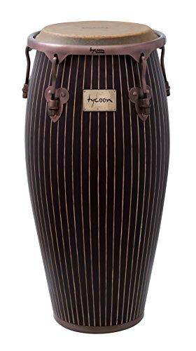 Tycoon Percussion MTCHC-100AC/ST1 Master Hand Crafted Pinstripe Serie Requinto Conga mit hölzernem Schallteller, 10Zoll (25cm)