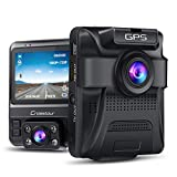 Best Dash Cam Duals - Dual Lens Dash Cam Built-in GPS in Car Review