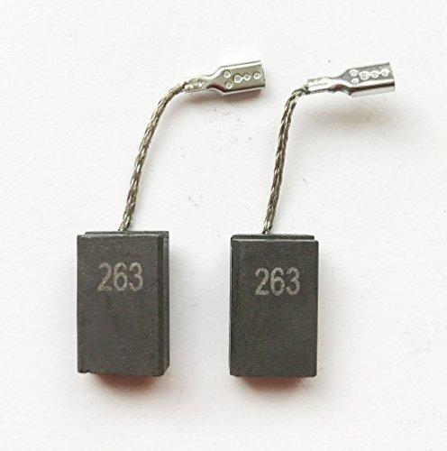 Kohlenbürsten für Metabo GE 710 Plus GE 950 G Plus WEF 9-125 Schleifer Teilenummer 316046900 T1F - Ge-teilenummer