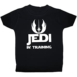 Acce Products Jedi in Training Baby/Children T-Shirts/Tops 1-2 Years Black