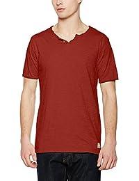 JACK & JONES VINTAGE Herren T-Shirt Jjvgalvin Ss Split Neck