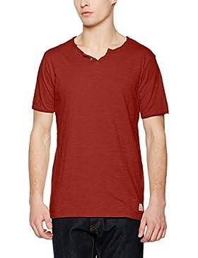JACK & JONES VINTAGE Jjvgalvin Ss Split Neck, Camiseta para Hombre