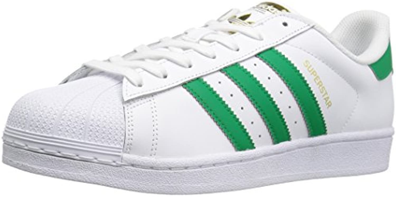Adidas Mens Superstar Foundation Leather Trainers