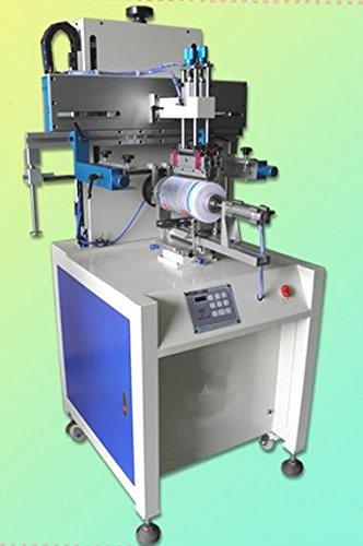 Gowe Automatische Container siebdrucks Maschine, CUVER Bildschirm Drucker, Behälter drucken Maschine für 1Farbe Siebdruck Drucker