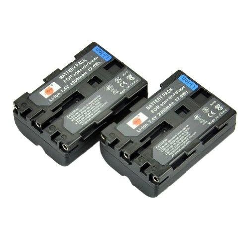 DSTE® 2x NP-FM500H Li-ion Batería para Sony a200, a300, a350, a700, Alpha a58, Alpha a99, DSLR-A100, DSLR-A100/B, DSLR-A100H, DSLR-A100K, DSLR-A100K/B,...