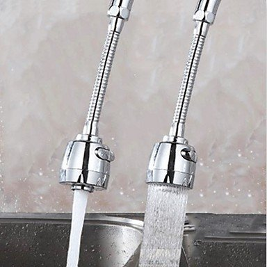 Wassereinsparung Belüftungsanlage Küchenarmatur Belüftungsanlage Küchenspritze 360 ??Swivel Flexible Rohr Wasser Bubbler Küche Zubehör Wasserhahn Belüfter (Bubbler-rohr)