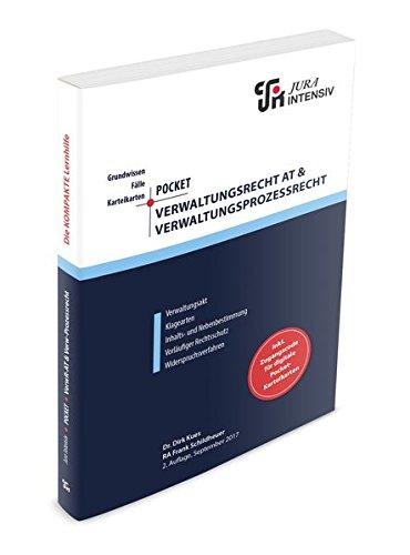 Pocket Allgemeines Verwaltungsrecht & Verwaltungsprozessrecht: Grundwissen - Fälle - Klausurhinweise - 48 Karteikarten