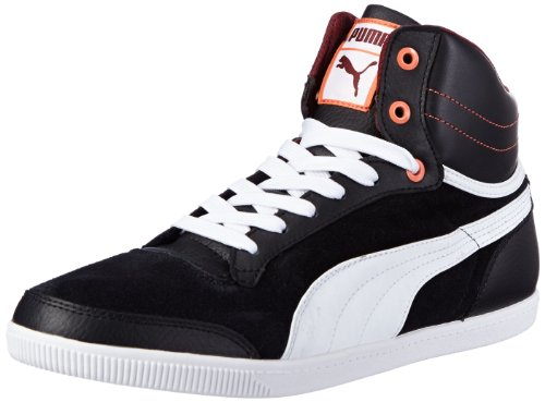 Puma Glyde Court Wn'S, Baskets mode femme Noir (01Black/White/Tawny Port)