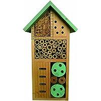 Heritage, caja de madera para insectos, casa nido para abejas y mariquitas, ideal para jardín