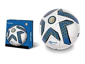 Mondo-13748 Inter - Balón de fútbol, Color Negro y Azul, 13748