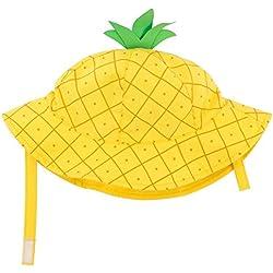 Zoo cchini Baby sombrero gorra con factor de protección Luz UV 50+ | tamaño m (6–12meses de circunferencia de cabeza, 50,5cm) Piña